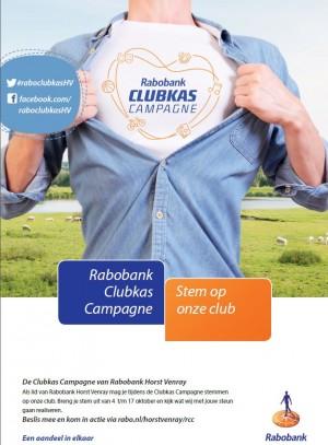 Stem op de Fietsvierdaagse Venray tijdens de Rabobank clubkas actie