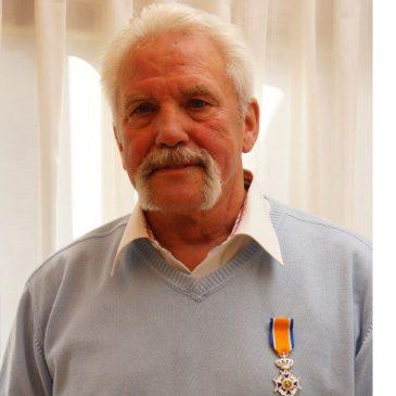 Jan van Stelten (70) benoemd tot lid in de Orde van Oranje-Nassau.